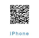 iPhone等のApple製品をお使いの方は下記のQRコードよりダウンロード可能です。